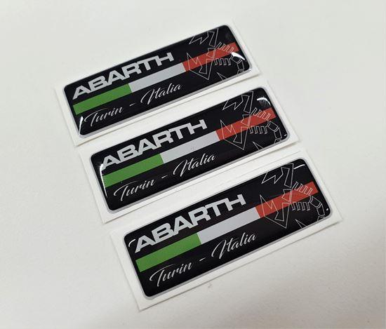 Picture of Fiat  Abarth Turin - Italia  Badges 55mm