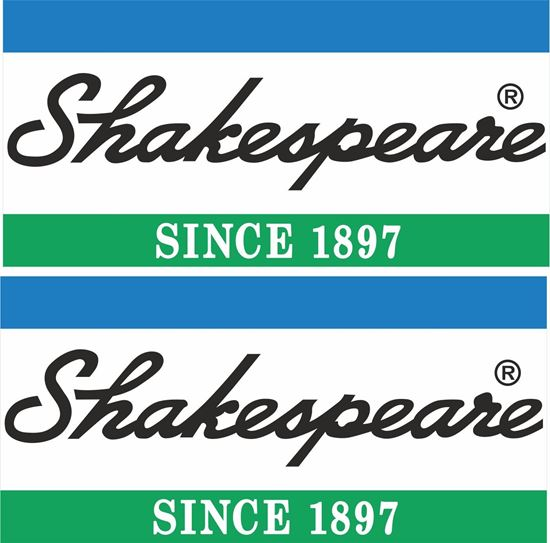 Picture of Shakespeare Decals / Stickers