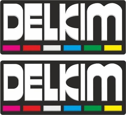 Picture of Delkim Decals / Stickers