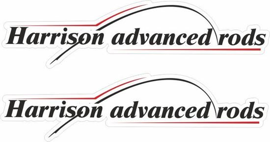 Picture of Harrison Advanced rods Decals / Stickers