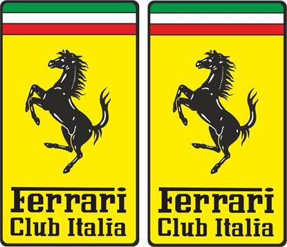 Picture of Ferrari Italia Club Decals / Stickers