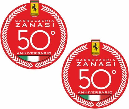 Picture of Ferrari 50 Anniversario Decals / Stickers