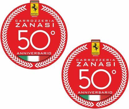 Picture of Ferrari 50 Anniversario Decals / Stickers