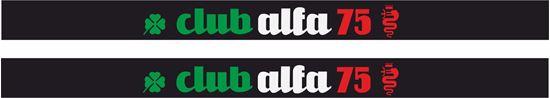 """Picture of Alfa Romeo """"Club Alfa"""" Decals / Stickers"""