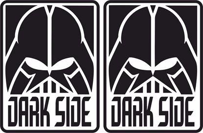 Picture of Dark Side Decals / Stickers