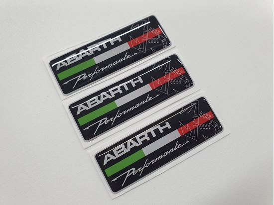 Picture of Fiat  Abarth Performante Badges 55mm