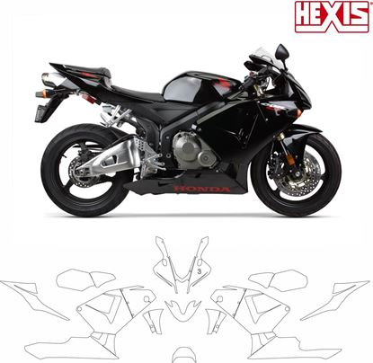 Picture of Honda CBR 600RR 2005 - 2006  Pre Cut PPF Kit