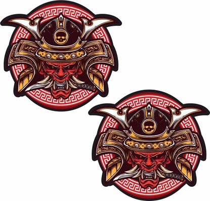 Picture of Samurai Decals / Stickers - copy