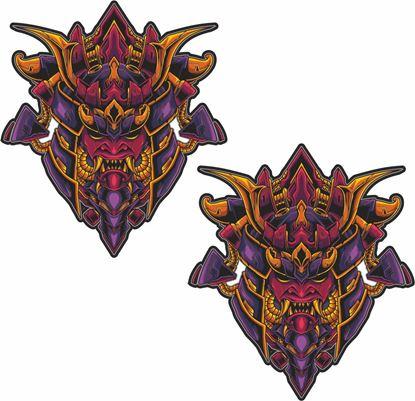 Picture of Samurai Decals / Stickers