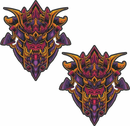 Picture of Samurai Decals / Stickers