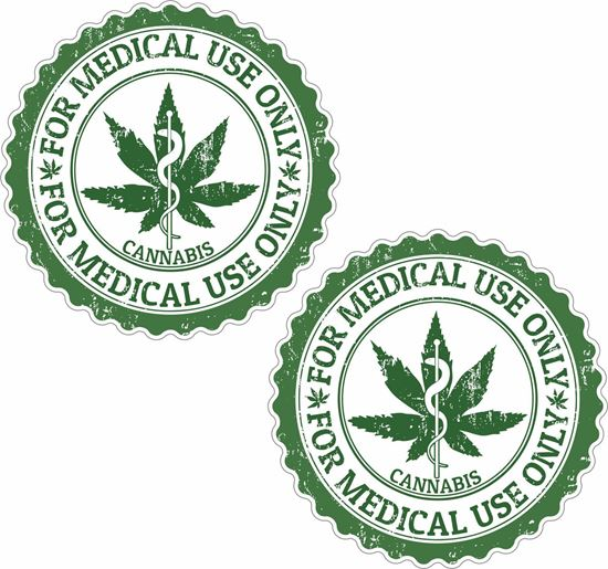 Picture of Cannabis Decals / Stickers
