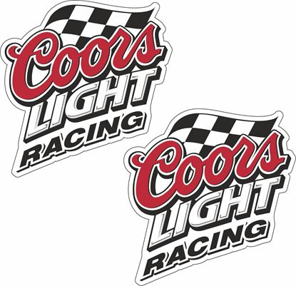Picture of Coors Light Racing Decals / Stickers