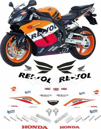 Picture of Honda CBR 1000RR 2004 - 2005 full WSB Repsol race replica Decals / Stickers