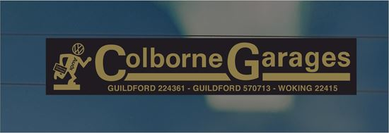 Picture of Coleborne Garages - Guilford / Woking Dealer rear glass Sticker