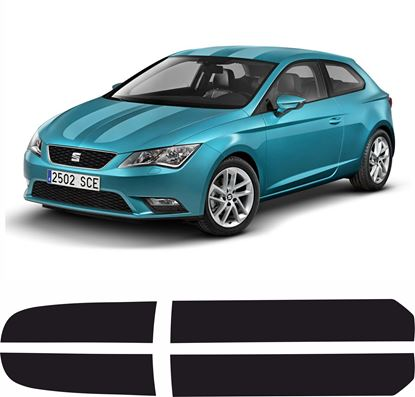 Picture of Seat Leon SC Bonnet & Roof Stripes  / Stickers FACTORY FIT