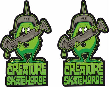 Picture of Creature Skate Horde Decals / Stickers
