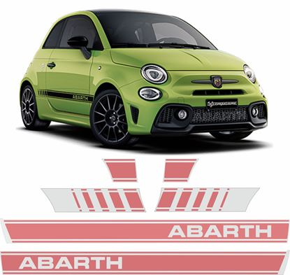 Picture of Fiat 595 Abarth side Stripes / Stickers  FACTORY FIT