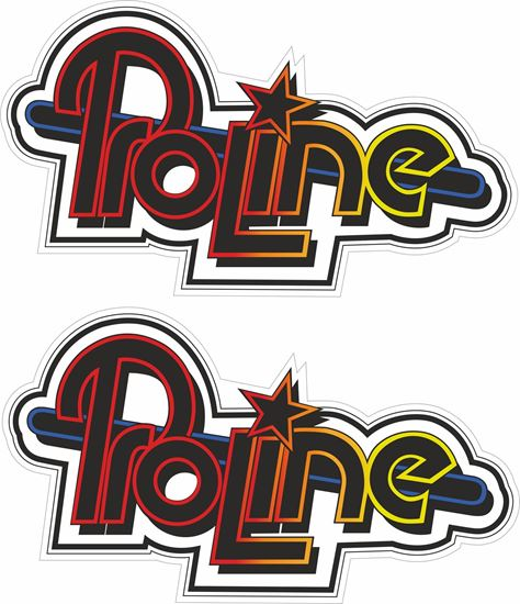 Picture of Proline Decals / Stickers