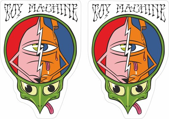 Picture of Toy Machine Decals / Stickers