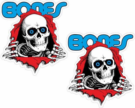 "Picture of Powell Peralta ""Bones"" Decals / Stickers"