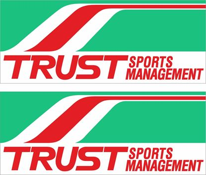 Picture of Trust Sports Management Decals / Stickers