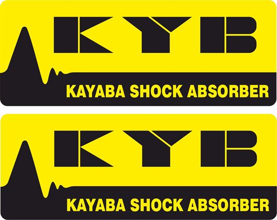 Picture of Kayaba Shock Absorber Decals / Stickers