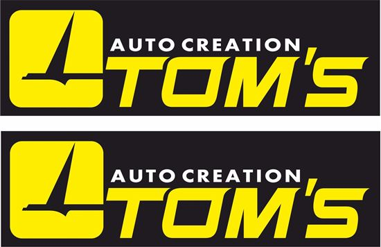 Picture of Tom's Decals / Stickers