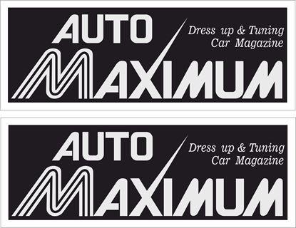 Picture of Auto Maximum Magazine Decals / Stickers