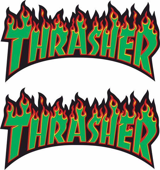 Picture of Thrasher Decals / Stickers