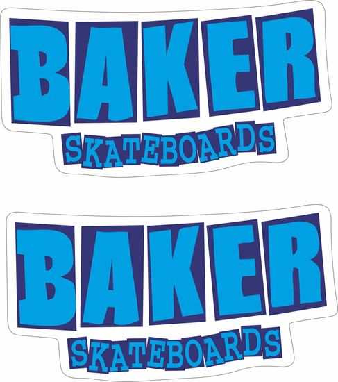 Picture of Baker Skateboards Decals / Stickers