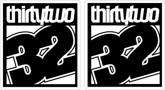 Picture of ThirtyTwo Decals / Stickers