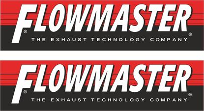 """Picture of """"Flowmaster"""" Decals / Stickers"""