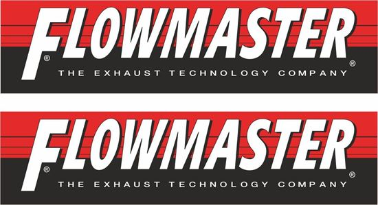 "Picture of ""Flowmaster"" Decals / Stickers"