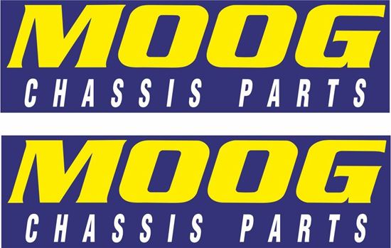 """Picture of """"Moog Chasis Parts"""" Decals / Stickers"""