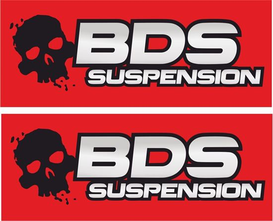 "Picture of ""BDS Suspension"" Decals / Stickers"