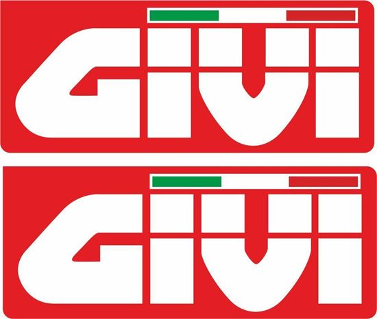 """Picture of """"Givi""""  Track and street race sponsor Decals / Stickers"""