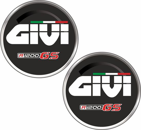 Picture of BMW R1200 GS Givi Decals / Stickers