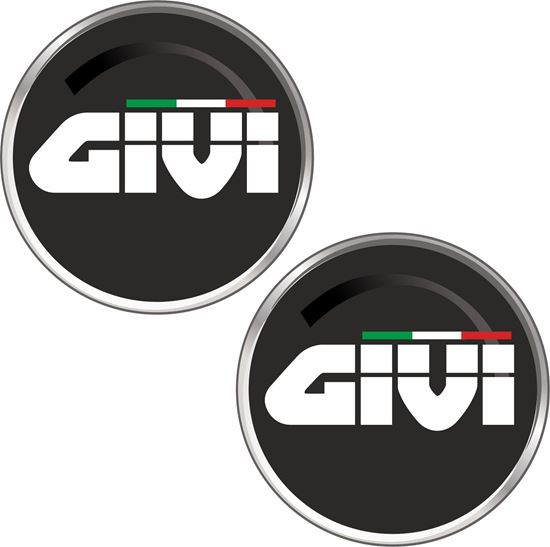"Picture of ""Givi""  Track and street race sponsor Decals / Stickers"