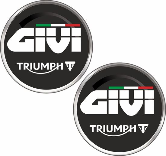 Picture of Triumph Givi Decals / Stickers
