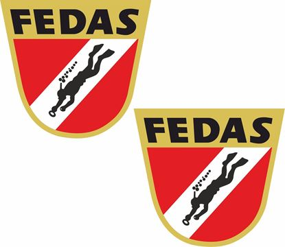 Picture of Fedas Decals / Stickers
