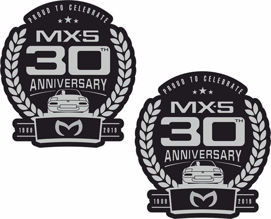 Picture of Mazda MX-5 30th anniversary Decals / Stickers