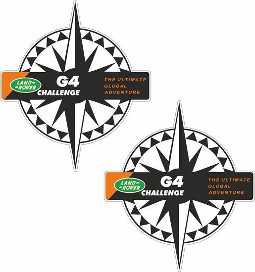Picture of G4 Challenge Compass  Decals / Sticker