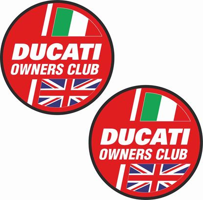 Picture of Ducati Owners Club Decals / Stickers