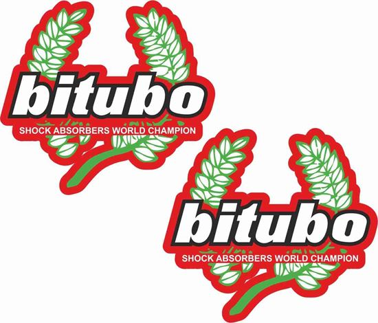 "Picture of ""Biturbo Shock absorbers"" Decals / Stickers"