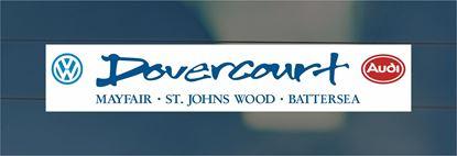 Picture of Dovercourt  - Battersea Dealer rear glass Sticker