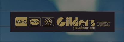 Picture of Gilders - Hillsboro Dealer rear glass Sticker