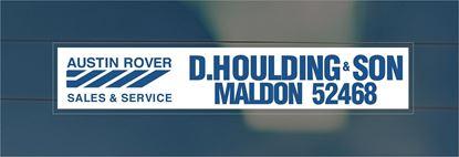 Picture of D.Houlding & Son - Maldon Dealer rear glass Sticker