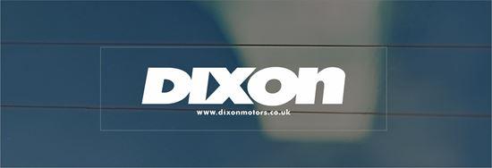 Picture of Dixon Motors Dealer rear glass Sticke