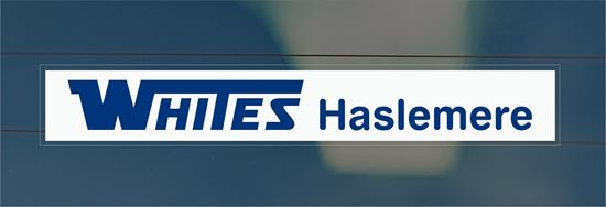 Picture of Whites - Haslemere Dealer rear glass Sticker