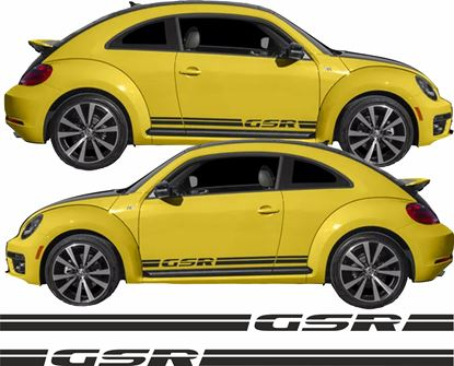 Picture of Beetle GSR side stripes Decals / Stickers